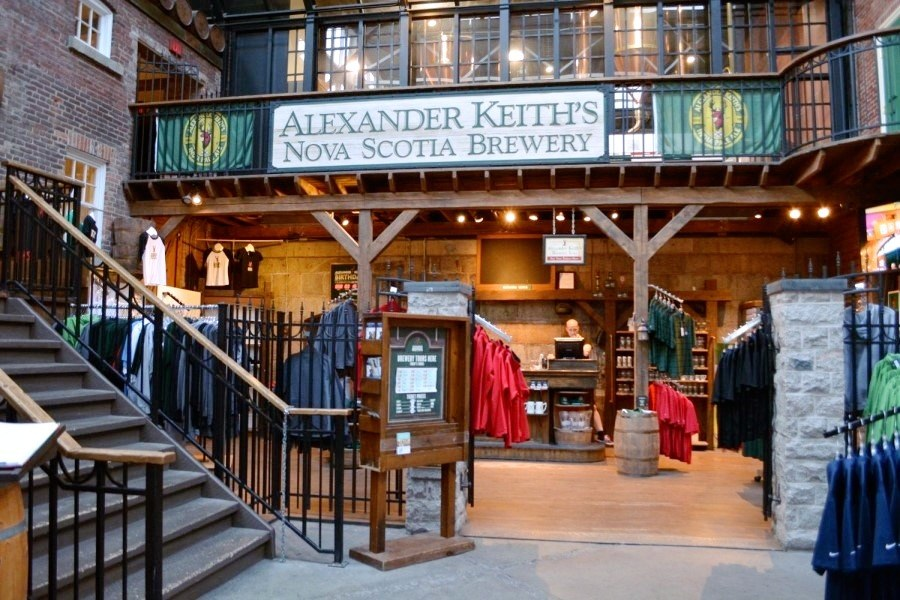Enjoy a pint at Alexander Keith