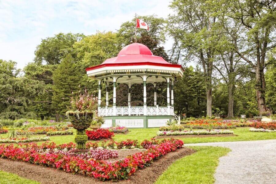 Explore the public gardens
